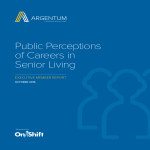 Public Perceptions of Careers in Senior Living image